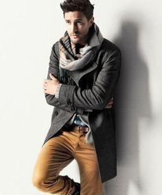Facetem jestem i o siebie dbam | Męski Blog | Moda, zdrowie, psychologia » Jak wiązać męski szalik?