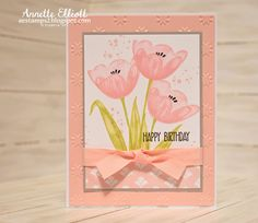 AEstamps a Latte...: Tranquil Tulips