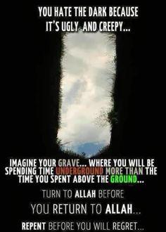 The grave islam Islam Religion, Islam Muslim, Allah Islam, Islam Quran, Muslim Ramadan, Islam Beliefs, Islamic Love Quotes, Muslim Quotes, Islamic Inspirational Quotes