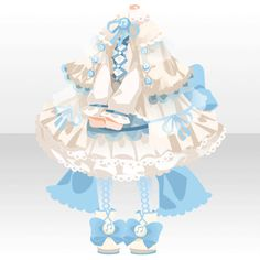li.nu attrade item.php?id=10796163 Dress Anime, Anime Skirts, Dress Drawing, Drawing Clothes, Cute Anime Character, Character Outfits, Kawaii Dress, Cocoppa Play, Dress Sketches
