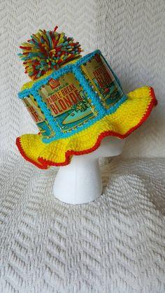2439978da44 Paddle Break Blonde Handmade Crochet Beer Can Hat