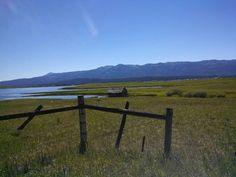 The road to Warm Lake, Idaho