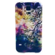 Patterned Ultrathin Soft TPU Case for Samsung Galaxy S5 I9600 G900 - Sunset