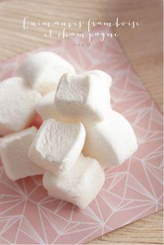 ©La mariee aux pieds nus - Recette de guimauve a la framboise et au champagne - Mon grain de sucre