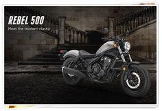 "Honda Rebel 500 | Honda Rebel 500 2017 (Matte Armored Silver, Non-ABS model) - Την προτιμώ σε Graphite Black και με ABS ...έστω και το ""μικρότερο"" μοντέλο την Rebel 300 <3 -   Ότι πρέπει·ακόμα και για αρχάριους! - (πηγή αρχικής φωτό: Honda Motorcycles Canada, motorcycle.honda.ca/model/cruiser/rebel_500)"