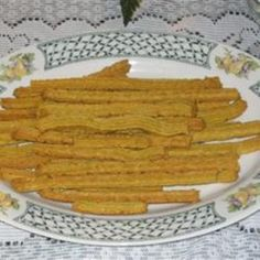 Cheese Straws! I'll probably be doubling the recipe...because I'll eat these in one sitting.