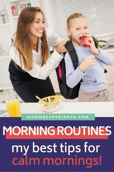 Let's Get Ready For Our Day: Morning Routine