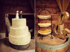 Rustic wedding desserts from Whisked Dc | Kim & Jess' locally sourced, personalized rustic chic barn wedding at Murray Hill in Leesburg, VA | Images: Jordan Baker Photography