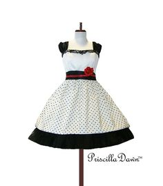 Custom in your size Rockabilly Sweet Dress by priscilladawn, $310.00