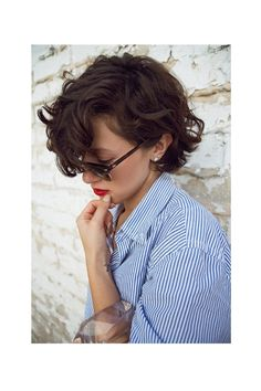 Wavy bob-mine never ends up looking this good...