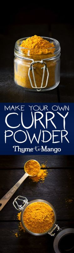 Make Your Own Curry Powder - Thyme To Mango