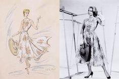 Edith Head design for Grace Kelly in Rear Window(1954)