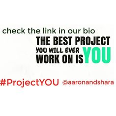 The BEST Project is YOU :)! Work your hardest on it :)!  #makemoneyonline #makemoney#makemoneyfromhome#workfromhomelife #workfromhomejob#workfromhomemom#workfromhomedad