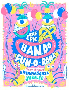 FUN-O-RAMA by Will Bryant for Ban.do