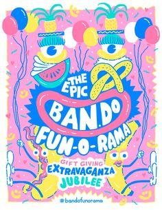 FUN-O-RAMA by Will Bryant for Ban.do