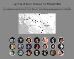 Highway of Tears: Mapping our Stolen Sisters ~ Data Viz Done Right