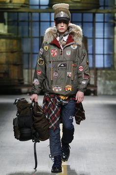 Dsquared2 Fall 2017 Ready-to-Wear Collection Photos - Vogue