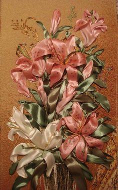 (15) Arteymanualidades Monix: Ribbon Embroidery