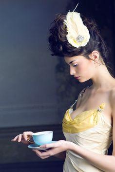 Time for tea?  via Cristina Re