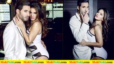 Sunny Leone with Daniel Weber On Mandate Magazine Cover January 2015 Issue 5