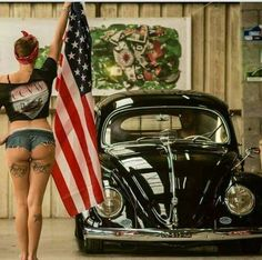 VOLKSWAGEN,#BEETLE_GIRL,#FUSCA,#USA...