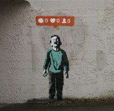 Quand le street-art rencontre les réseaux sociaux