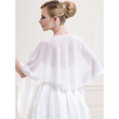 chle tole bolro de mariage mousseline de soie blanc noir ivoire accessoires de la marie - Etole Mariage Ivoire