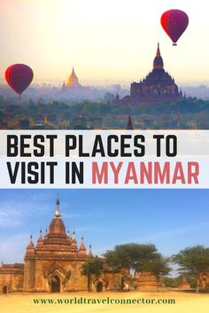 Find out what are top Myanmar destinations and why you should visit them! Check … Find out what are top Myanmar destinations and why you should visit them! Check out the ultimate guide to best places to visit in Myanmar! Myanmar Destinations, Top Destinations, Yangon, Myanmar Travel, Asia Travel, Cool Places To Visit, Places To Travel, Pagoda Garden, Inle Lake