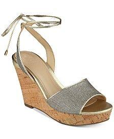 GUESS Women's Edinna Wedge Sandals