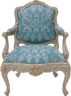 my louis xv chair;-)