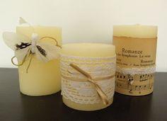 Snoesje design: Nieuwe kaarsen