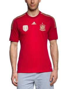 €14.90 in Gr. XL * adidas Herren Heimtrikot Spanien, Victory Red S04