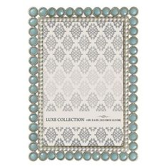 Luxe Collection 4'' x 6'' Elegant Jeweled Frame