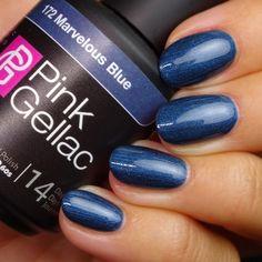 Gellak Kleur 172 Marvelous Blue kopen? PinkGellac.nl