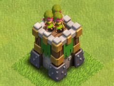 Clash of Clans Archer Tower | Clash of Clans Tactics