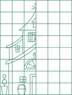 Resultado de imagem para draw the other half Symmetry Activities, Visual Perception Activities, Lessons For Kids, Math Lessons, Drawing For Kids, Art For Kids, Graph Paper Art, Art Worksheets, Gymnasium