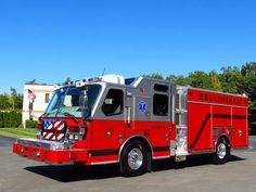 E-ONE Pumper | Bellingham (MA) Fire Department, pumper. Quest ll cab and chassis