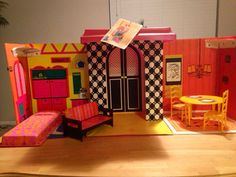 1968 original Barbie family house with tag on Etsy, $85.00