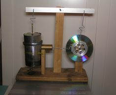 How I built a hot air engine almost entirely from junk. I've wanted to build one of these ever since discovering stirling engines in about 2003. Spending the weekend making ...
