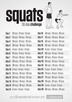 Squat Challenge - help tone that Toosh!