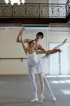 class Pas de Deux /Vaganova Ballet Academy