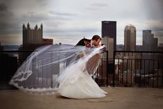 Wedding-Wear Question: To Veil or Not to Veil? - Beyond the Cookie Table - October 2015 #Pittsburgh #Wedding #Veil