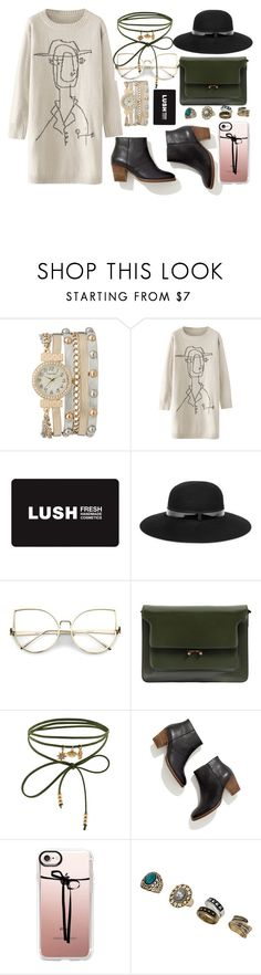 """""""Account Hack"""" by manel-908 ❤ liked on Polyvore featuring maurices, Lanvin, Marni, Accessorize, Madewell, Casetify and Miss Selfridge"""