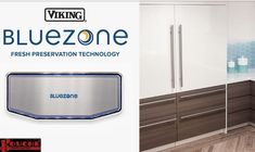 Bluezone technology is so powerful and effective it is purifying air in hospital waiting rooms, aircraft carriers, government facilities and cold storage warehouses. If fresh and virus-free air is a priority, Bluezone is there. It's a notable example of how Viking stands by you in the ongoing effort to keep your family and your home as safe and protected as possible.   #highendappliances #refrigeration #cookingrange #kitchendesign, #kitchenideas Bottom Freezer Refrigerator, Stand By You, Waiting Rooms, Warehouses, Aircraft Carrier, Effort, Vikings, Kitchen Design, Home Appliances