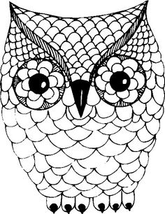 Embroidery patterns owl clip art New ideas Free Mosaic Patterns, Owl Patterns, Owl Clip Art, Owl Art, Acrylic Painting Rocks, Embroidery Art, Embroidery Patterns, Owl Stencil, Stencils