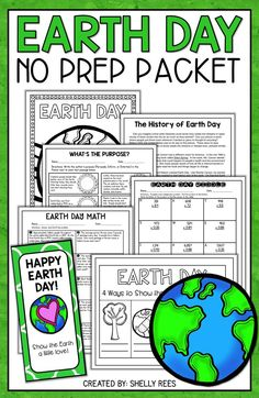 Earth Day activities for kids is fun with this packet of Earth Day Math and Earth Day Reading printables! Students in 3rd grade, 4th grade, 5th grade, and middle school enjoy the Earth Day reading passages, coloring page, Earth Day math word problems, and interactive notebook foldable. A popular Earth Day math product on Teachers Pay Teachers!