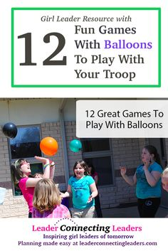 """Over the years as a leader I have tried a number of different games using balloons. Scouts is all about the girls, if your girls are not having fun it is time to change what you are doing. A question I was asked by a another leader recently; """"What do I do if my girls …"""
