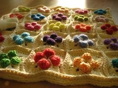I don't know if this is going to be a blanket, but whatever it is I LOVE this!