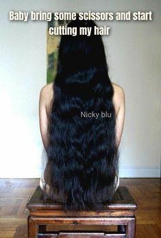 Shaved Heads, Crop Hair, Beautiful Long Hair, Shearing, Girlfriends, Hair Cuts, Bring It On, Photoshop, Long Hair Styles