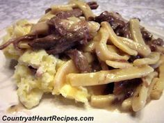 Country at Heart Recipes: Beef and Noodles